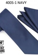 Stacy Adams Tie Stacy Adams Reg 400S-1 Navy