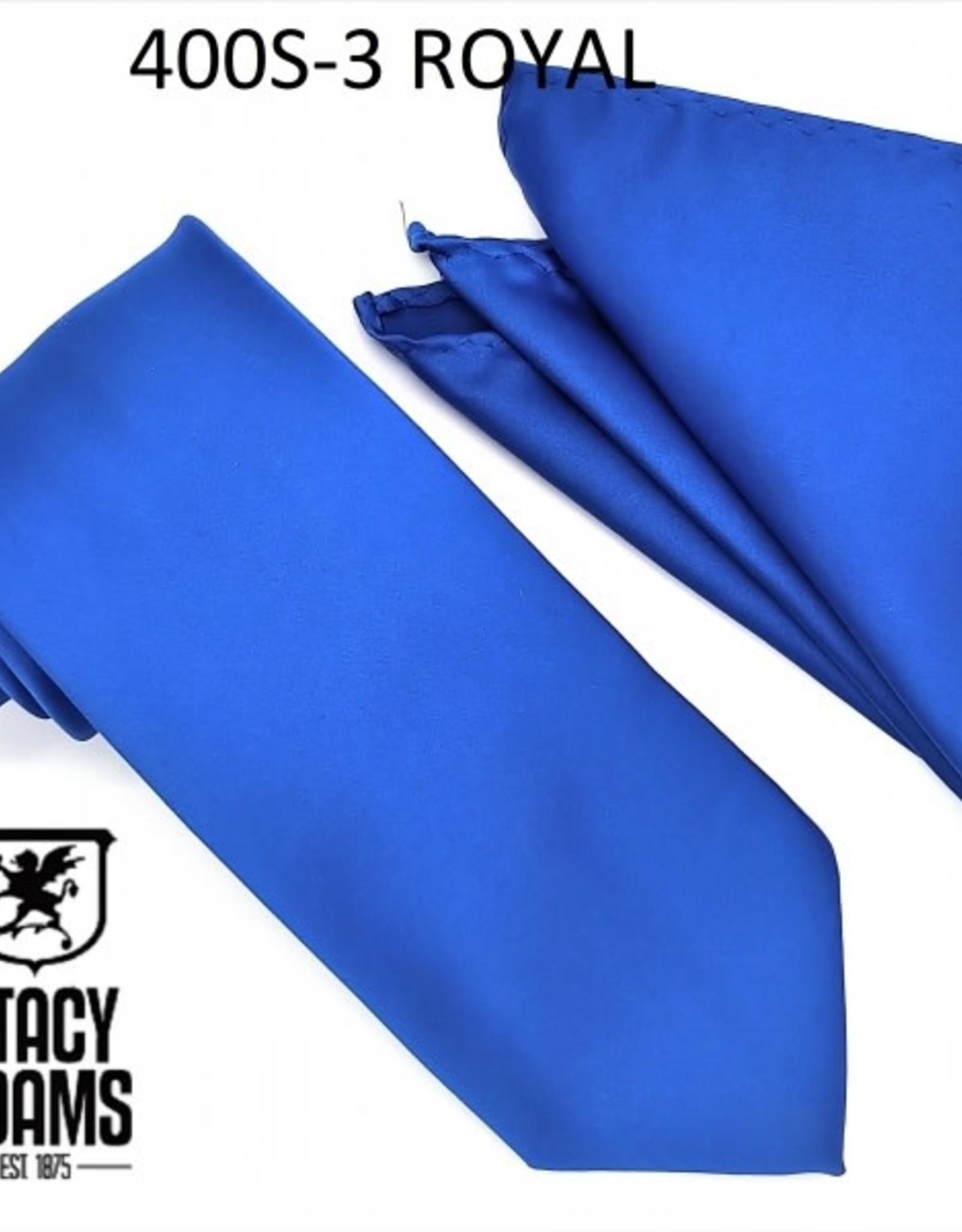 Stacy Adams Tie Stacy Adams Reg 400S-3 Royal