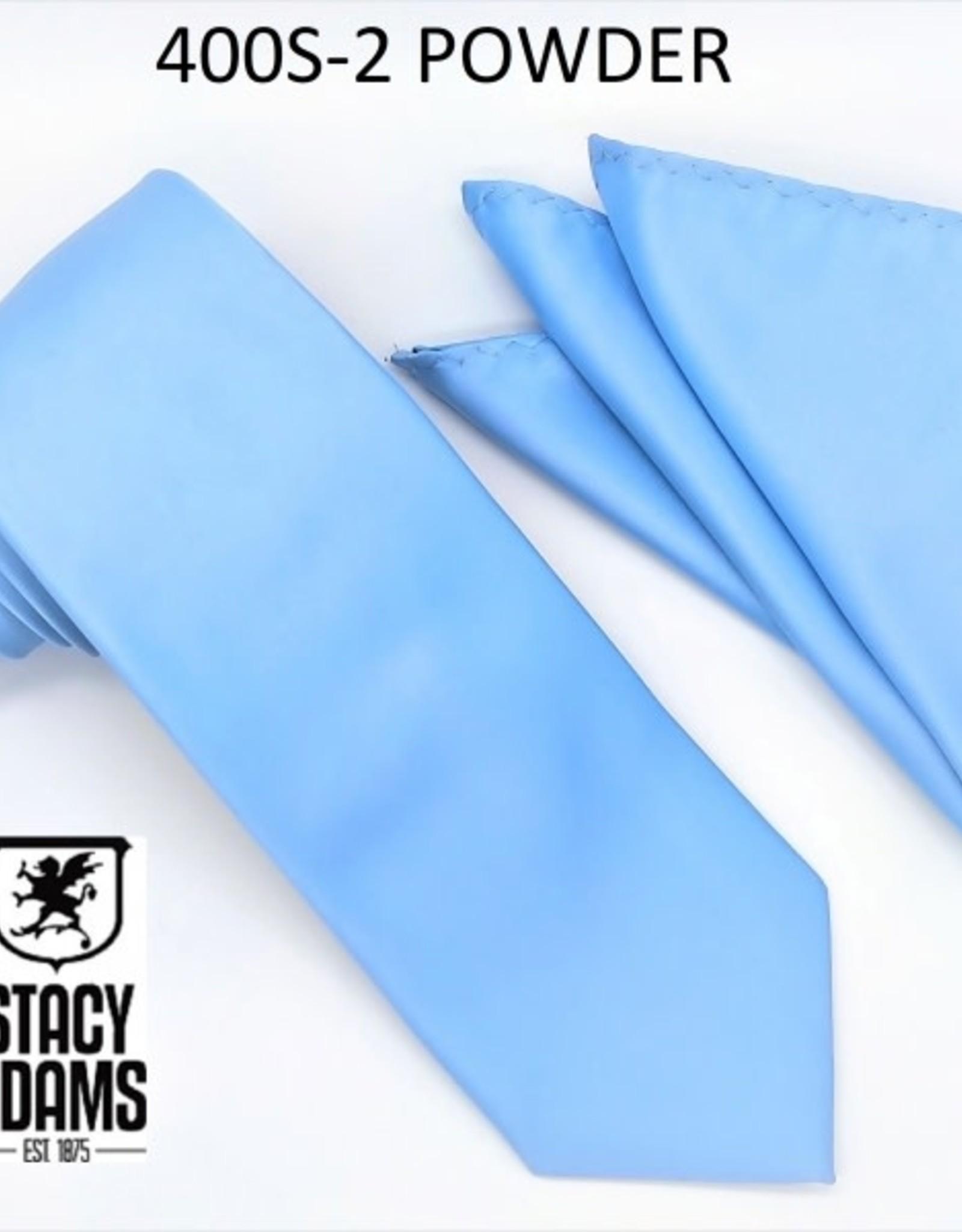 Stacy Adams Tie Stacy Adams Reg 400S-2 Powder