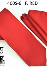 Stacy Adams Tie Stacy Adams Reg 400S-6 F. Red