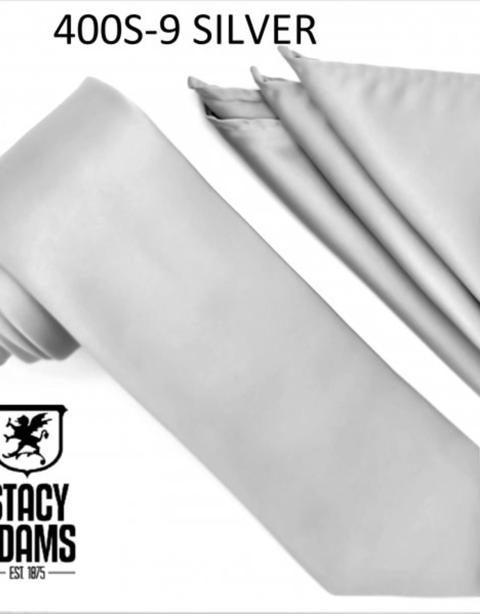 Stacy Adams Tie Stacy Adams Reg 400S-9-Silver