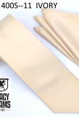 Stacy Adams Tie Stacy Adams Reg 400S-11 Ivory