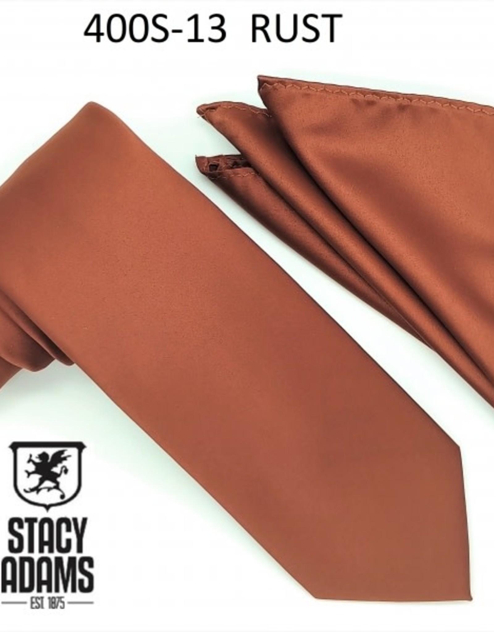 Stacy Adams Tie Stacy Adams Reg 400S-13 Rust