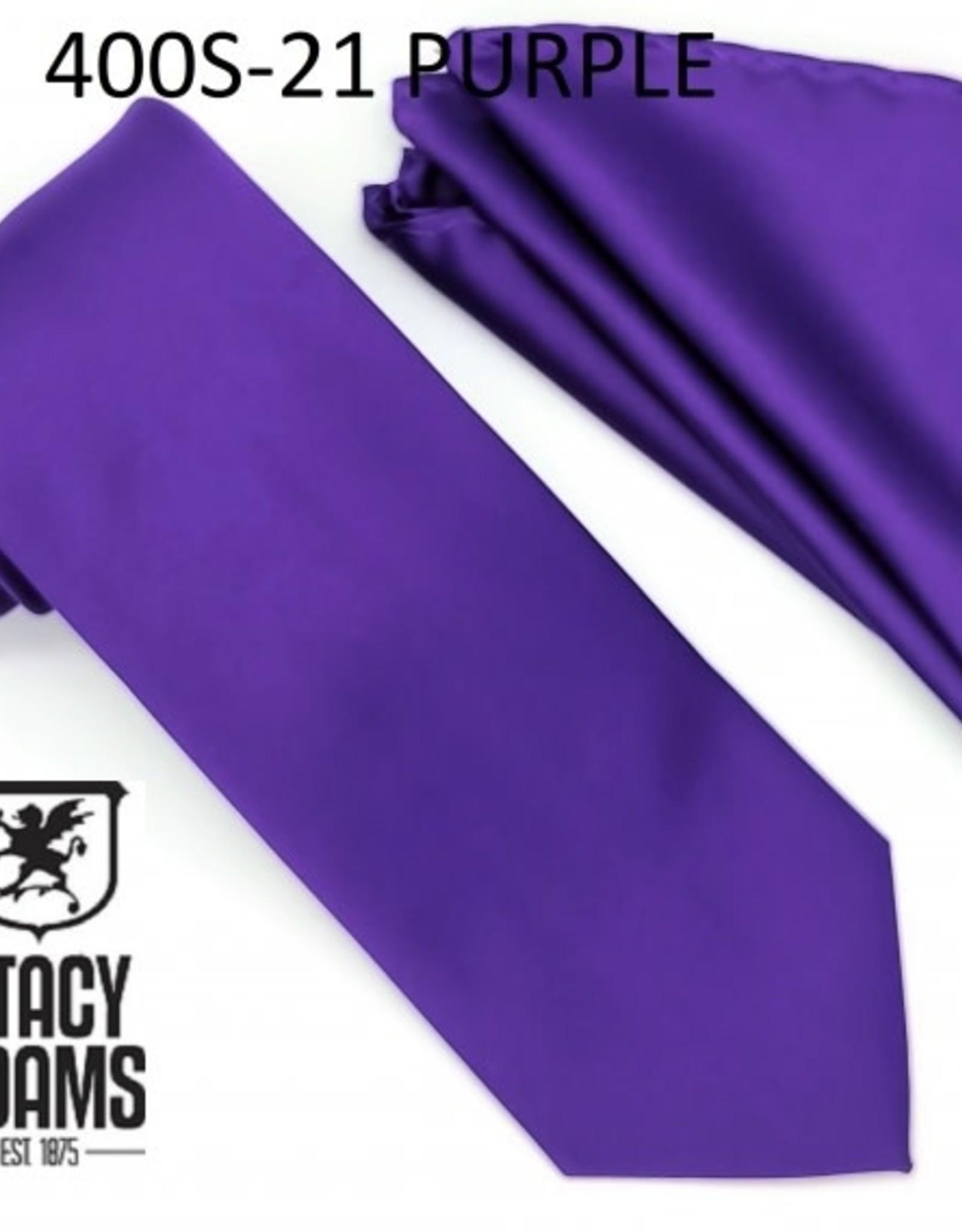 Stacy Adams Tie Stacy Adams Reg 400S-21 Purple