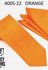 Stacy Adams Tie Stacy Adams Reg 400S-22 Orange