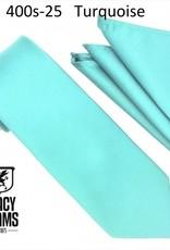 Stacy Adams Tie Stacy Adams Reg 400S-25 Turquoise