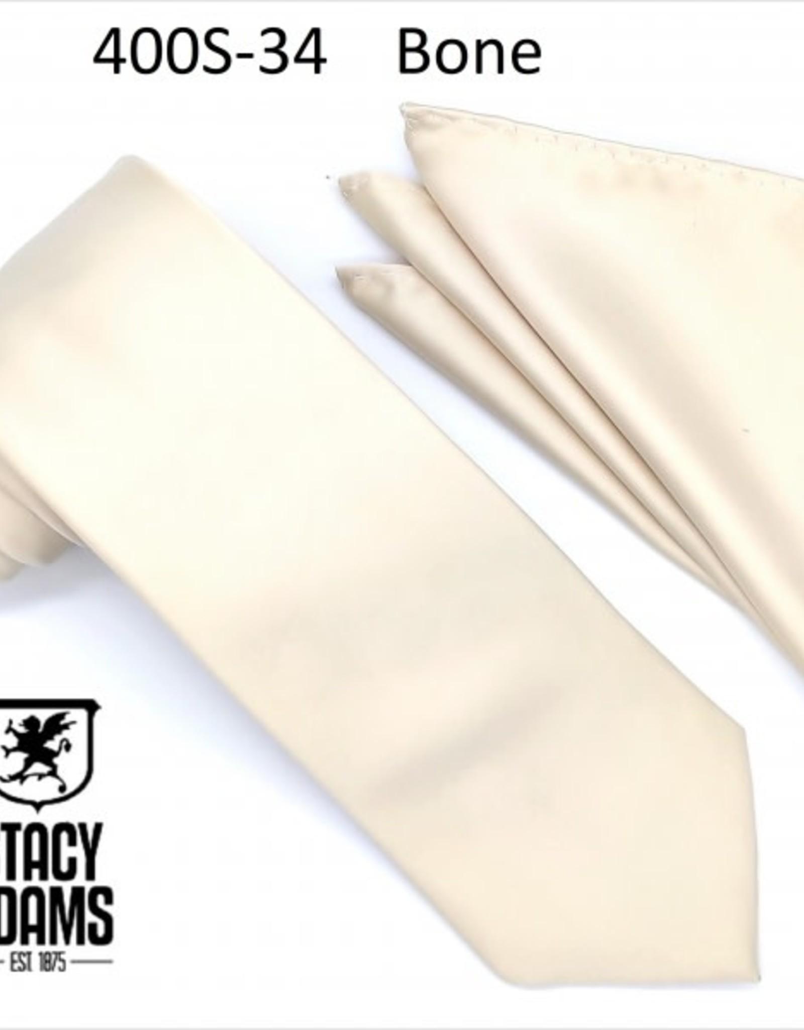 Stacy Adams Tie Stacy Adams Reg 400S-34 Bone
