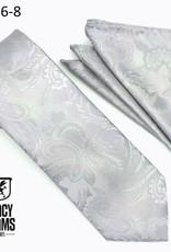 Stacy Adams Tie Stacy Adams Reg Paz sa276-8 Silver