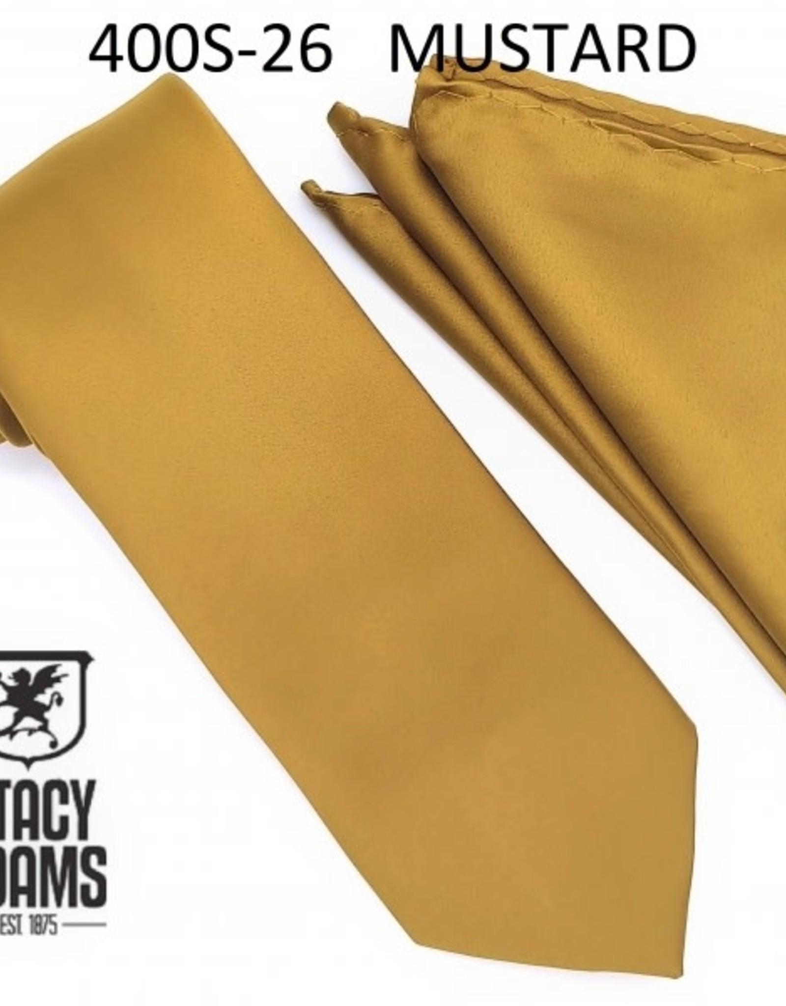 Stacy Adams Tie Stacy Adams Reg 400S-26 Mustard