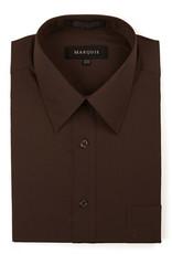 Marquis Dress Shirt MarQuis Slim Fit Chocolate