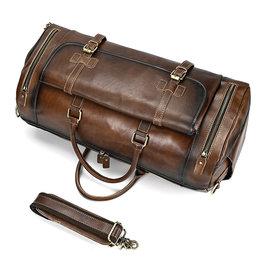 Genuine Leather Travel Luggage Bag