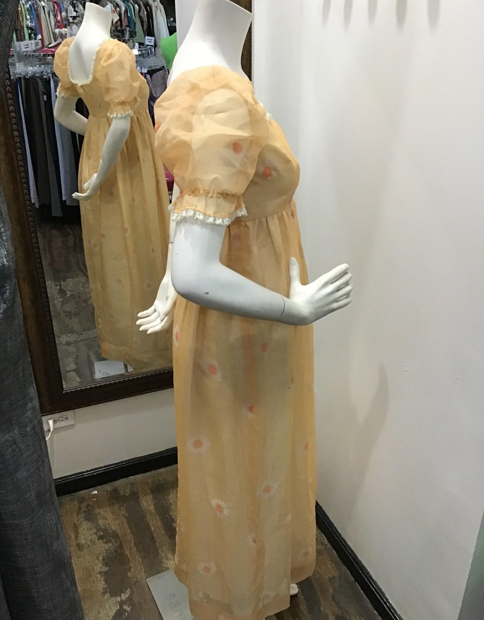 70's Sunflower dress