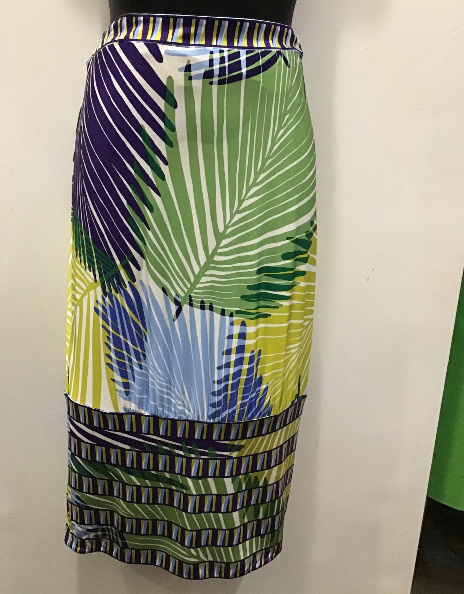 BCBG MAXAZRIA BCBGMAXAZRIA Tropical mid length skirt sz Small
