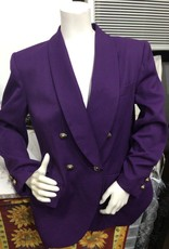 Kasper for A.S.L. Kasper for A.S.L 80's Purple suit set sz12