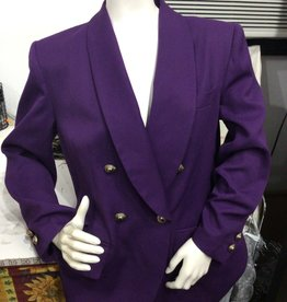 Kasper for A.S.L. Kasper for A.S.L 80's Purple suit set sz12