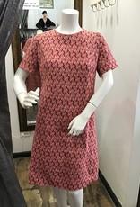 60s knit dress sz XL