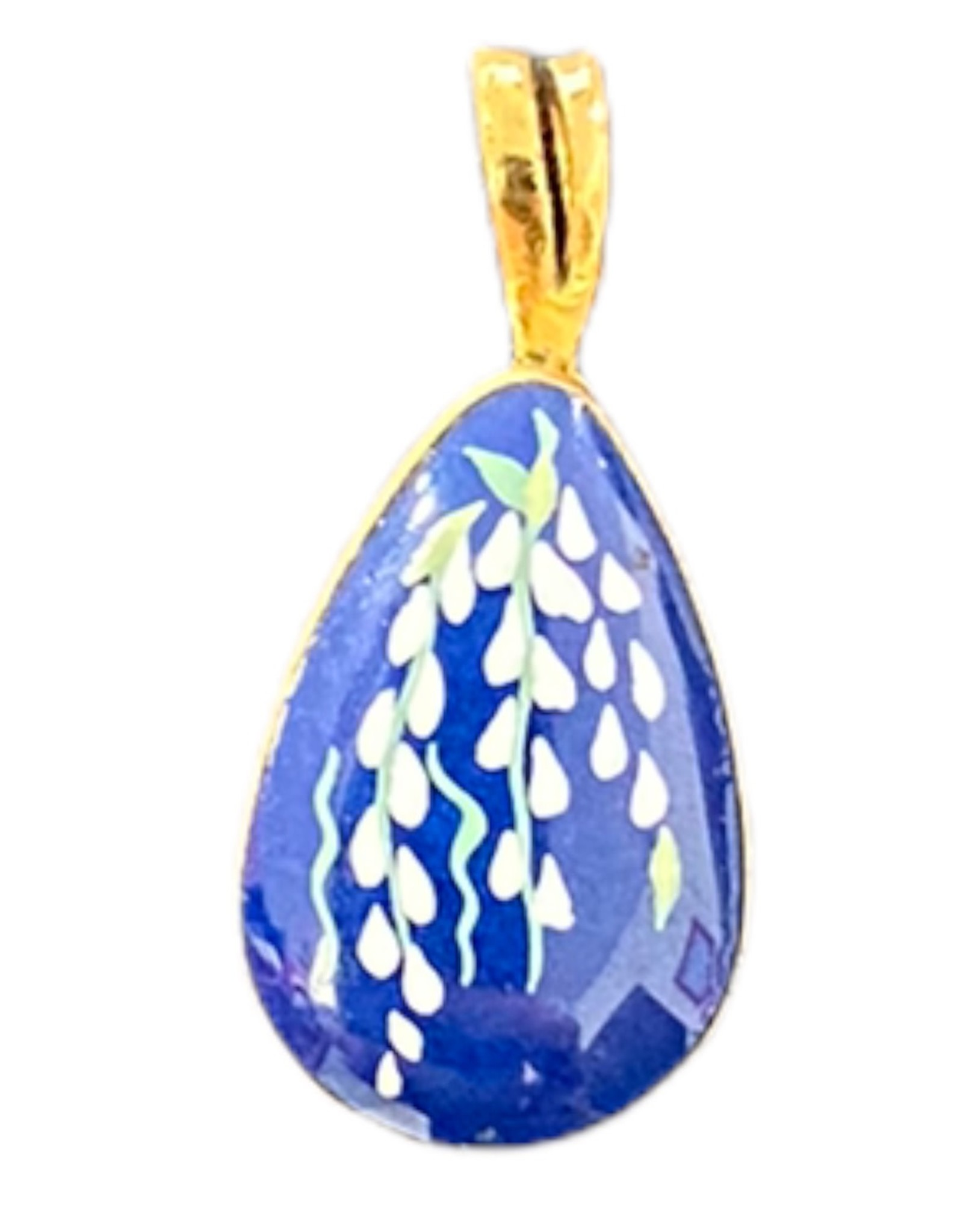 lenox blue pendant