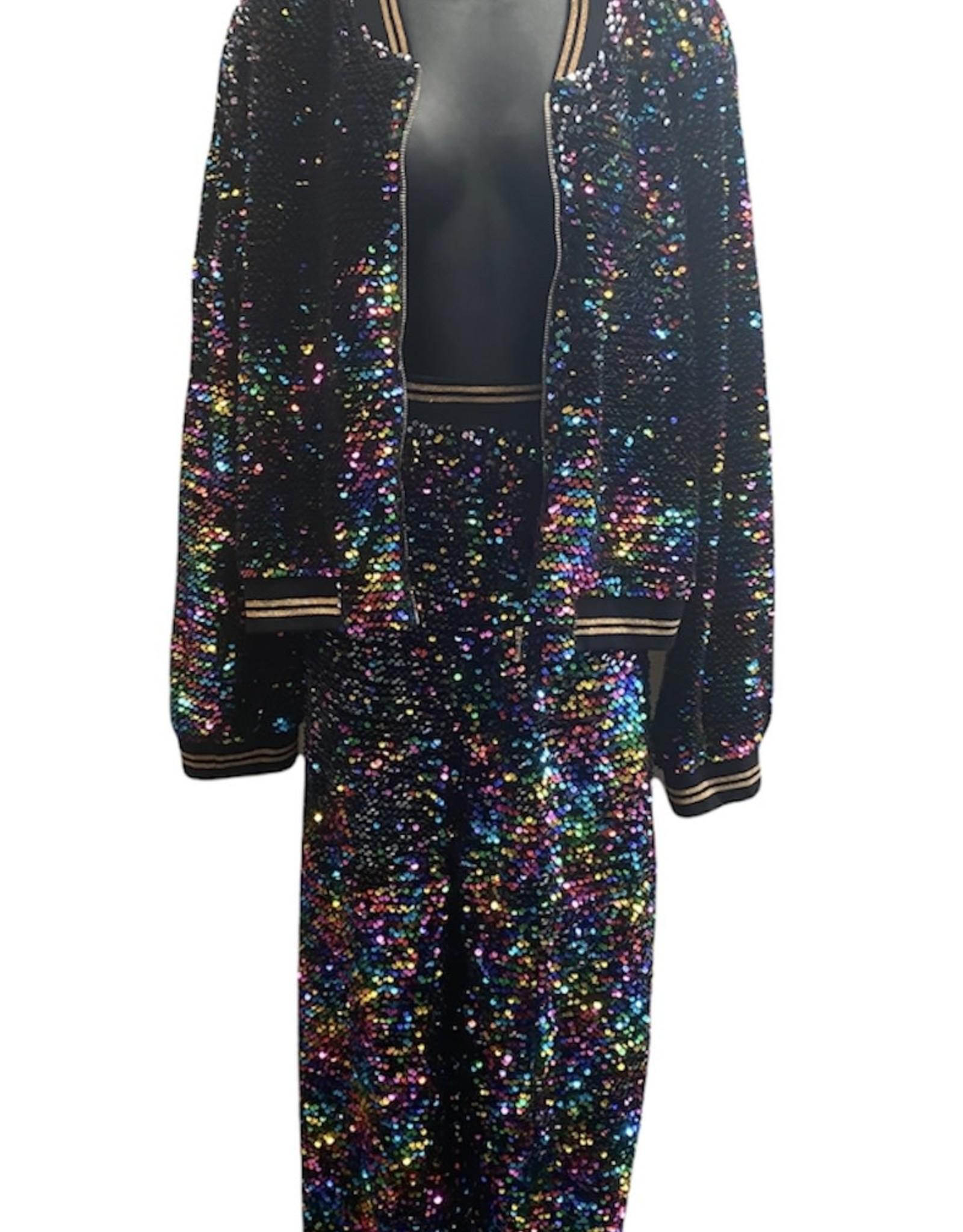 sequin track suit sz 3X