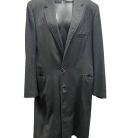 80s long gray blazer/topcoat 42