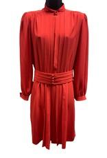 Nipon Boutique 80s red dress sz 8