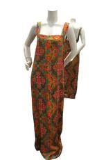 Modesto Modesto 70's Jamaican full length dress