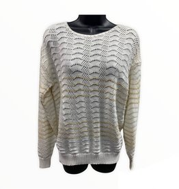 Jolie 80s wavy sweater sz M