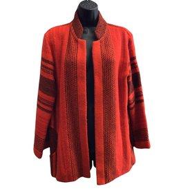 Red and black Danish fleece jacket