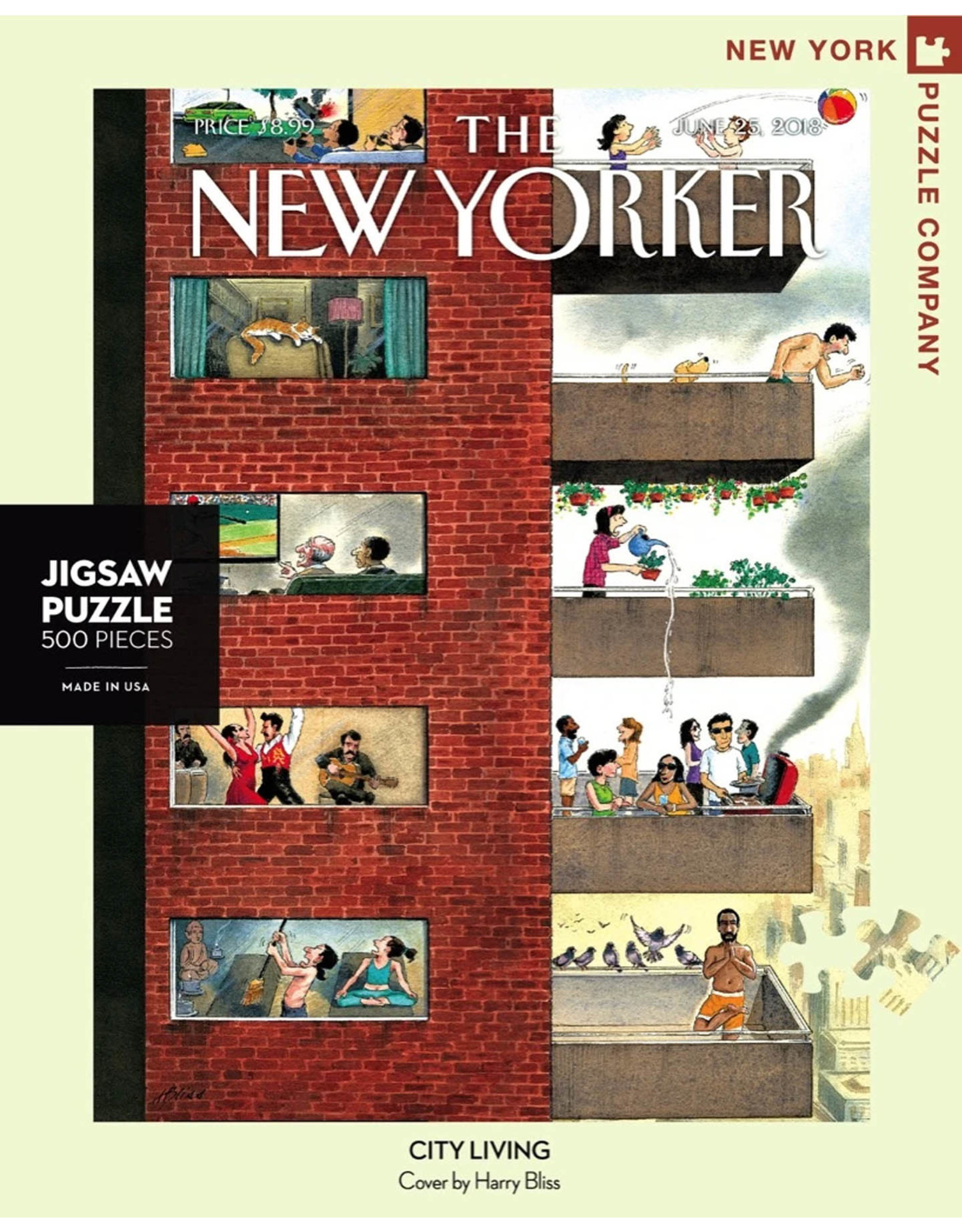 New York Puzzle Co City Living 500pc