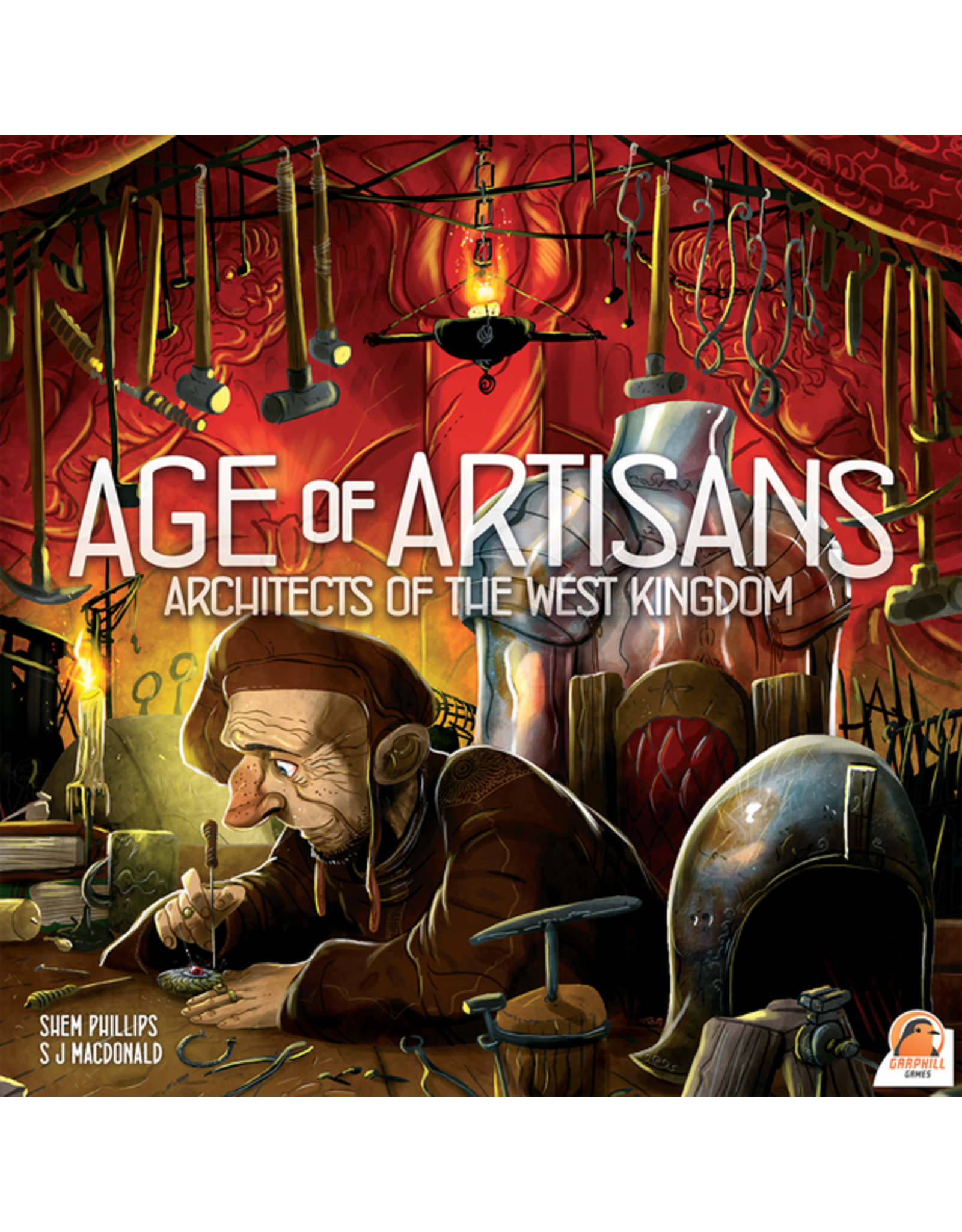 Renegade Game Studios Architects of the West Kingdom: Age of Artisans Exp