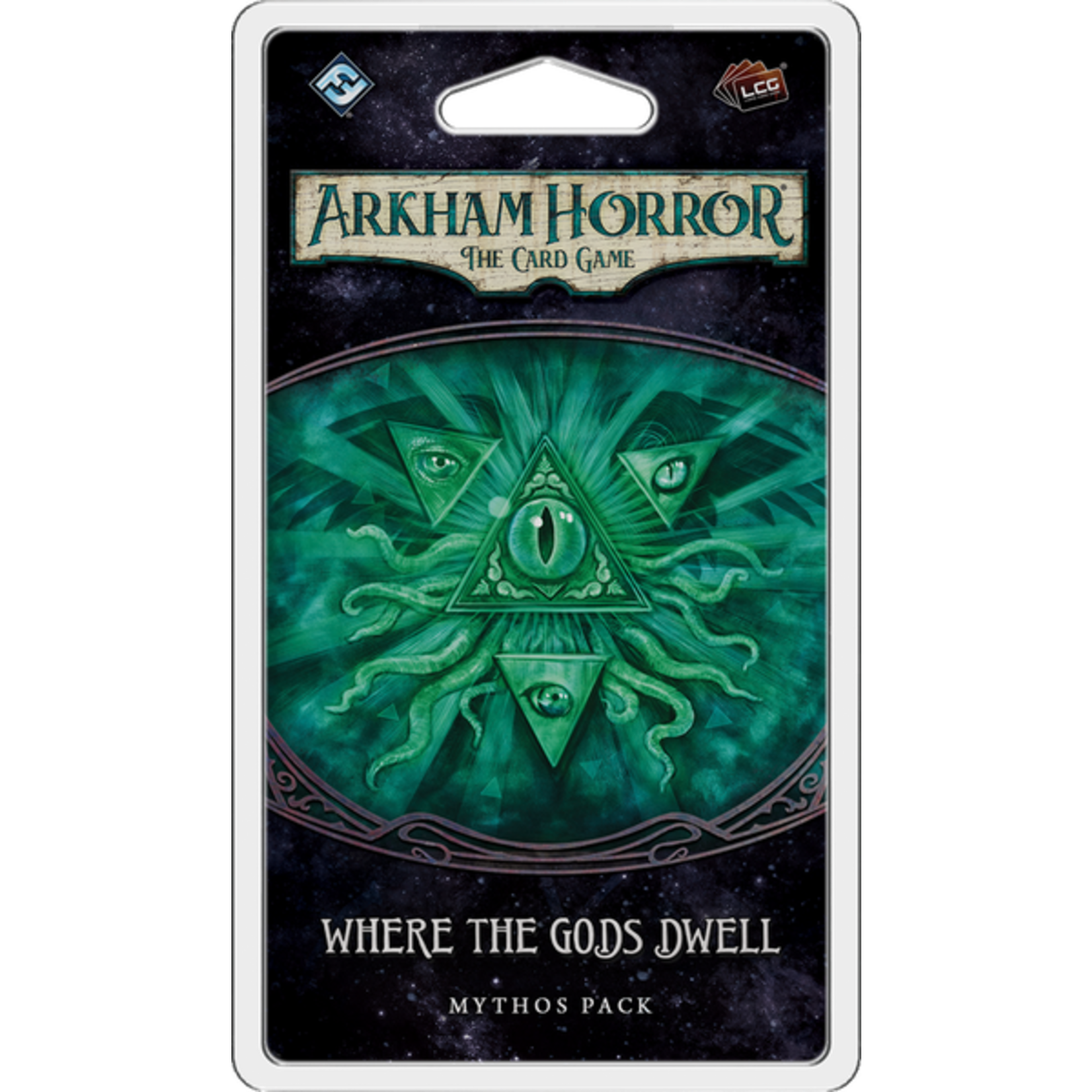 Fantasy Flight Games Arkham LCG: Where the Gods Dwell