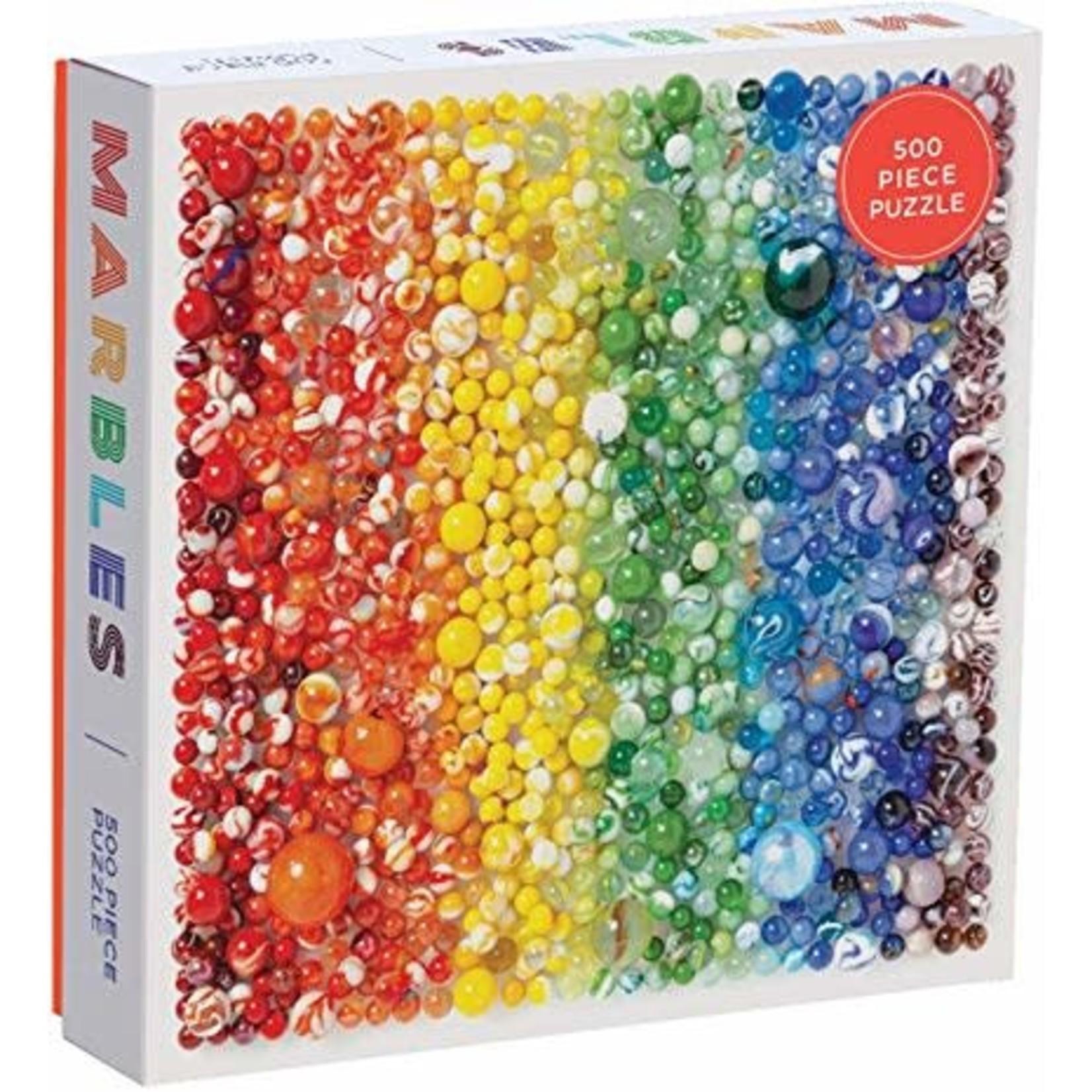 Galison Rainbow Marbles 500pc