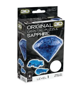 BePuzzled Crystal 3D Sapphire (L1)