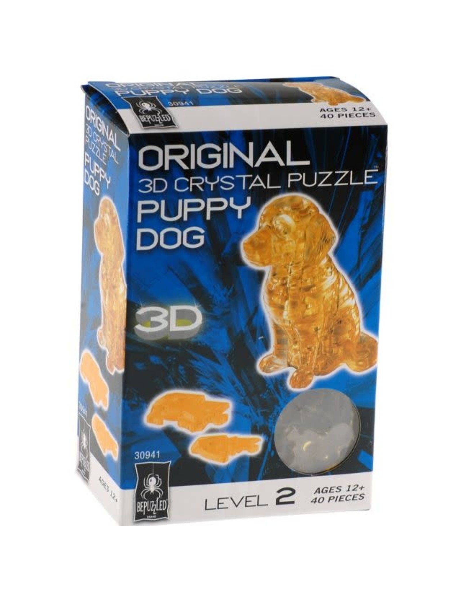 BePuzzled Crystal 3D Dog