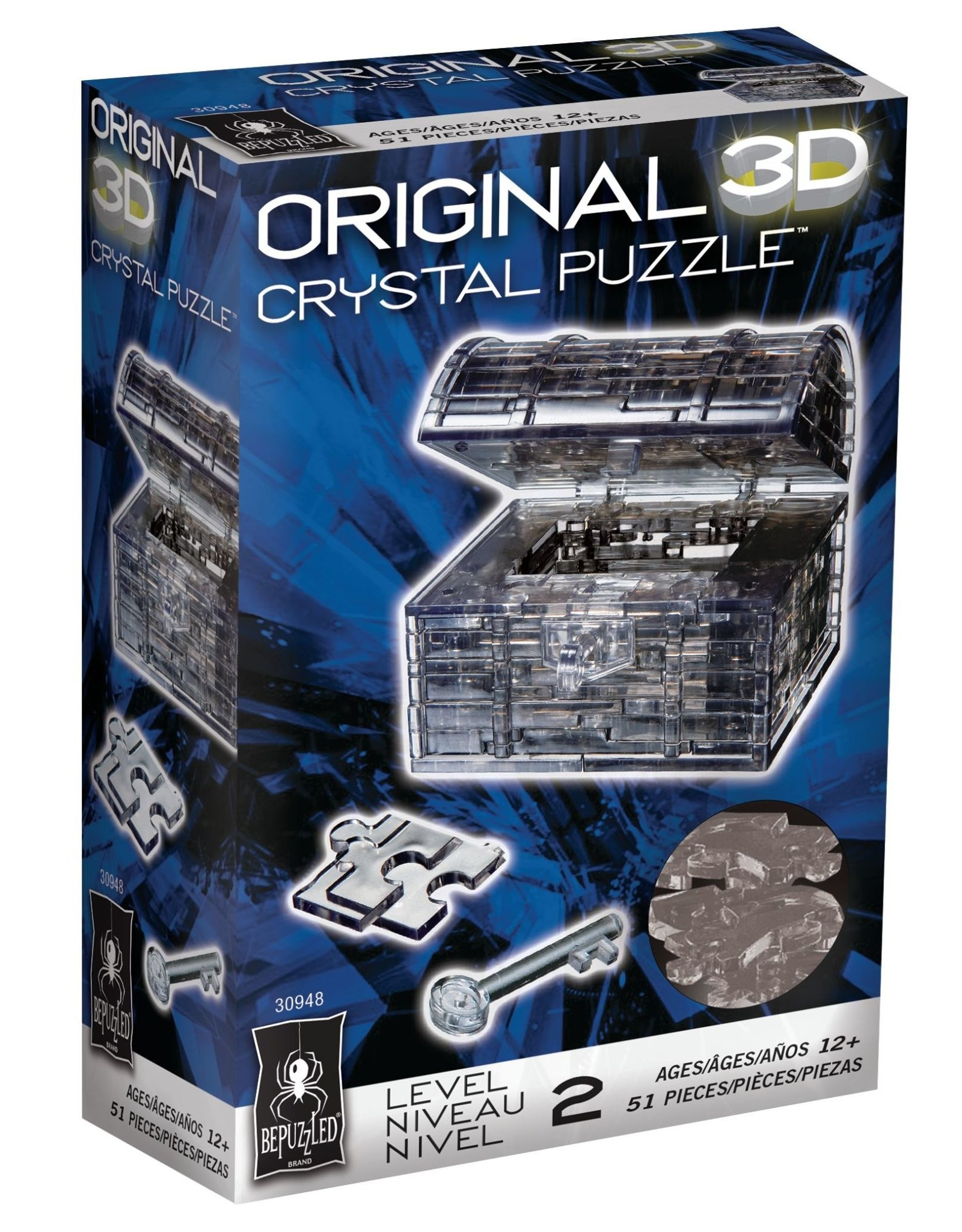 BePuzzled Crystal 3D Chest