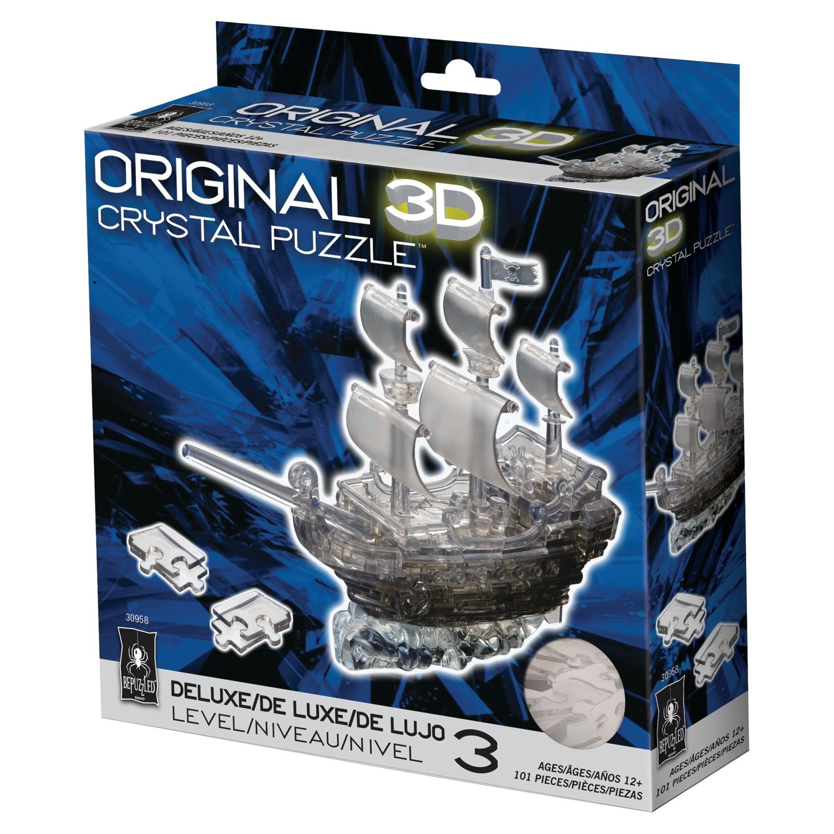 BePuzzled Crystal 3D Pirate
