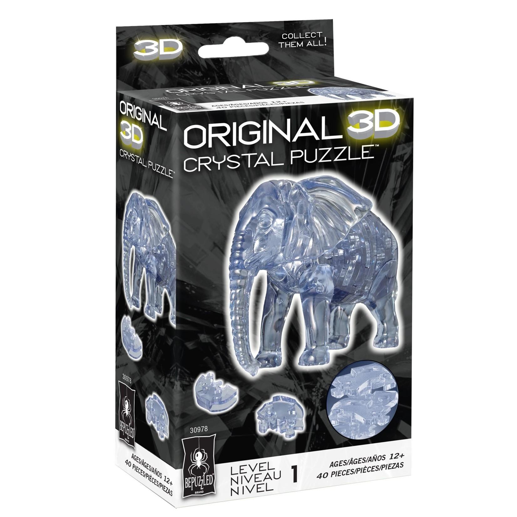 BePuzzled Crystal 3D Elephant