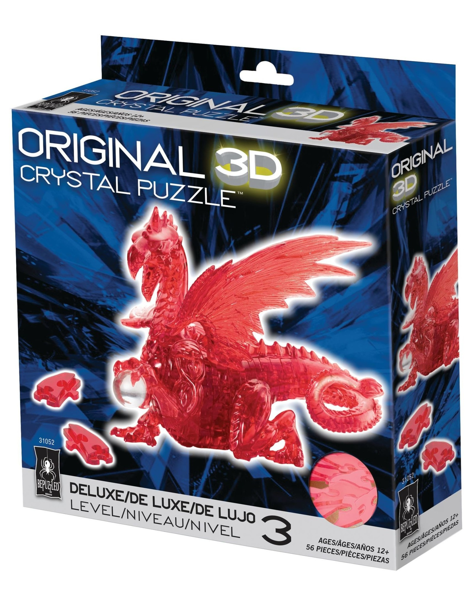 BePuzzled Crystal 3D Dragon