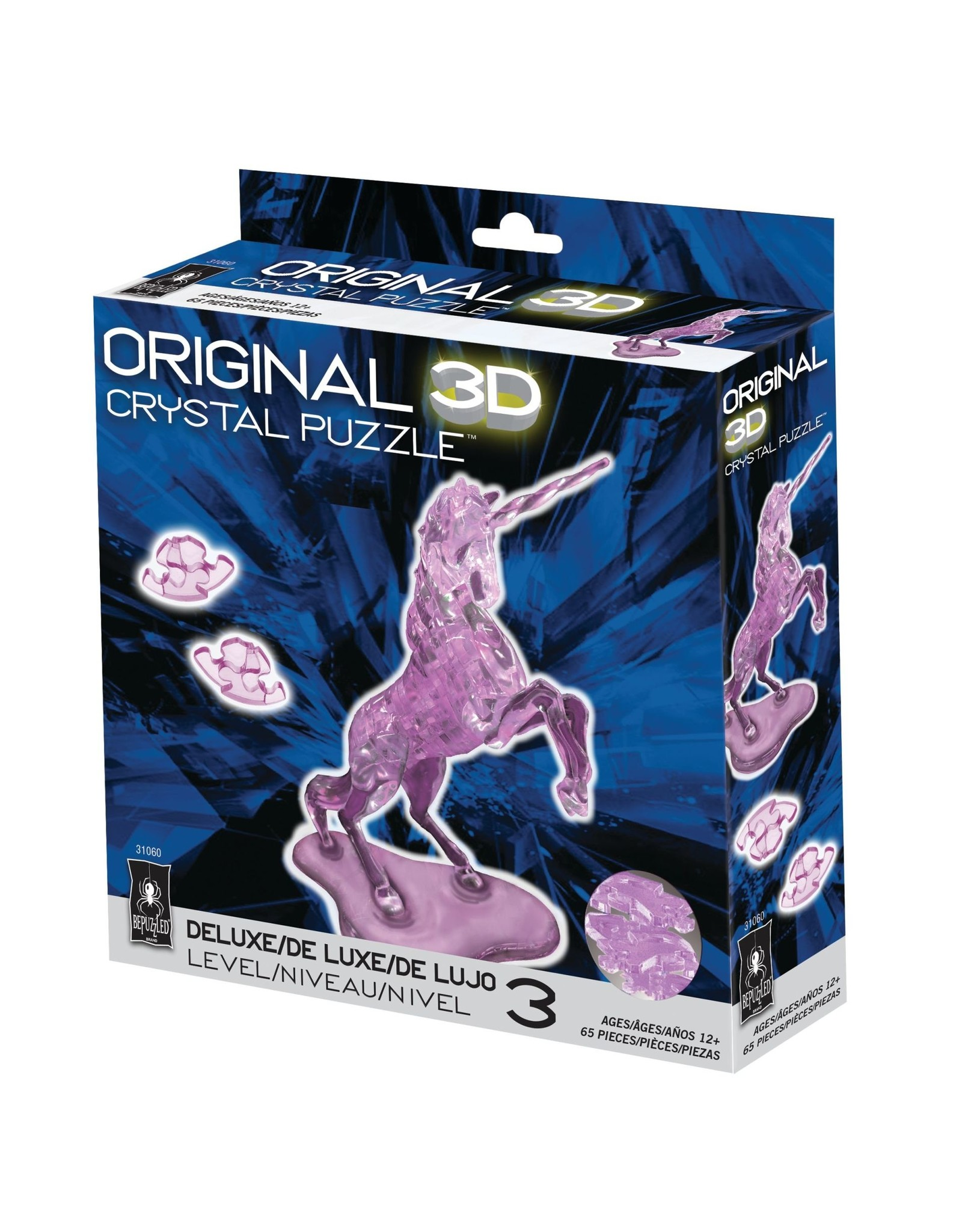 BePuzzled Crystal 3D Unicorn Dlx