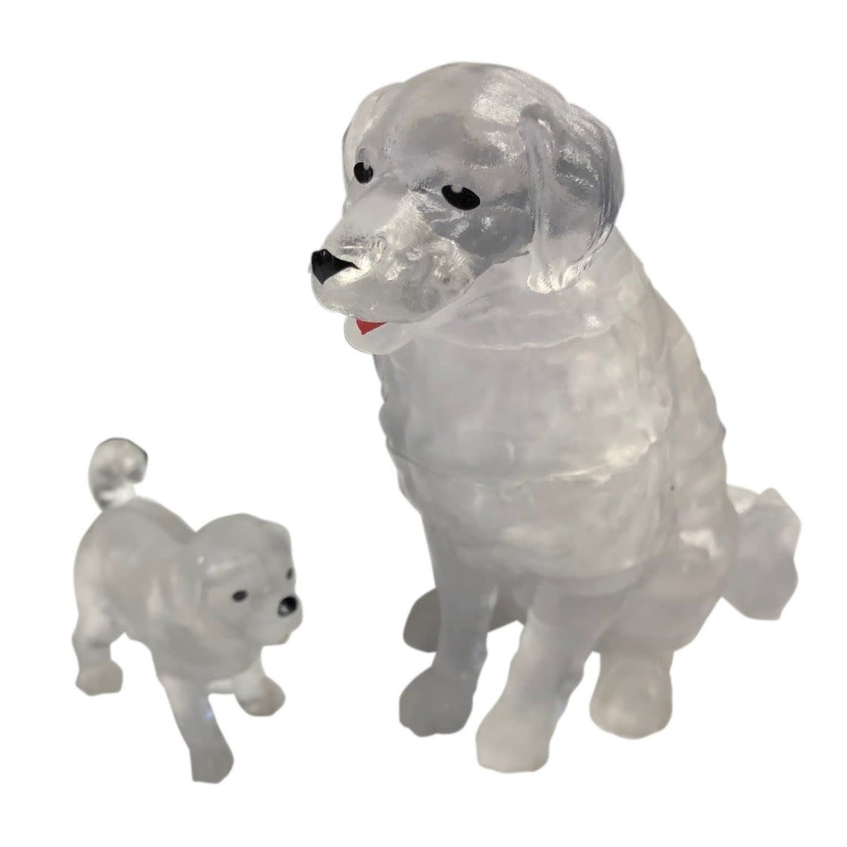 BePuzzled Crystal 3D Dog & Puppy