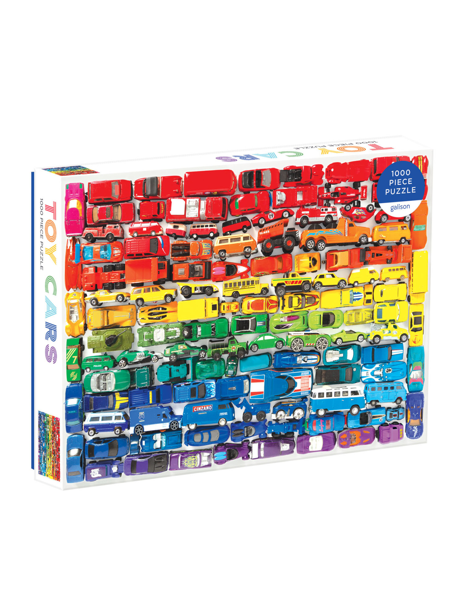 Galison Rainbow Toy Cars 1000pc