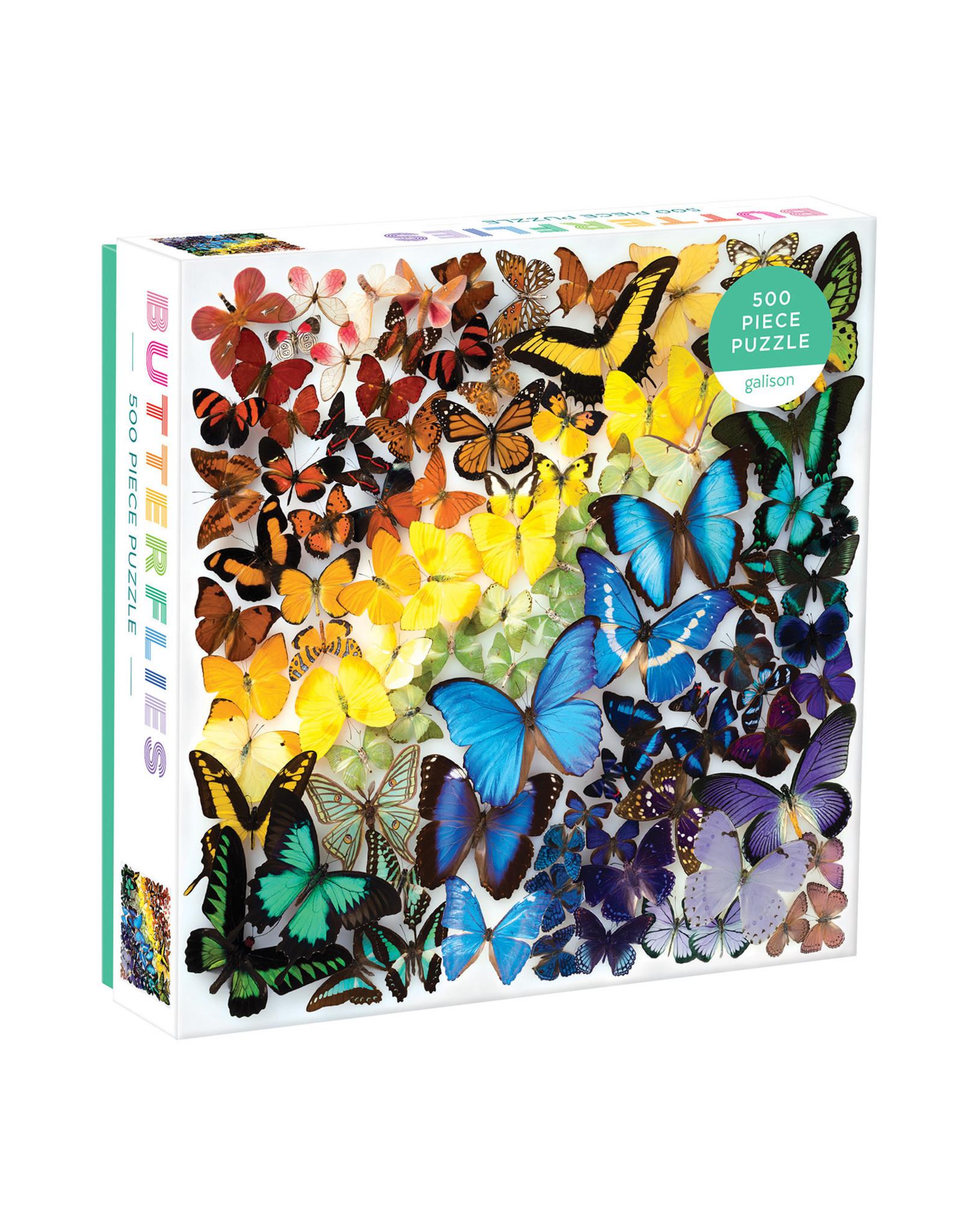 Galison Rainbow Butterflies 500pc