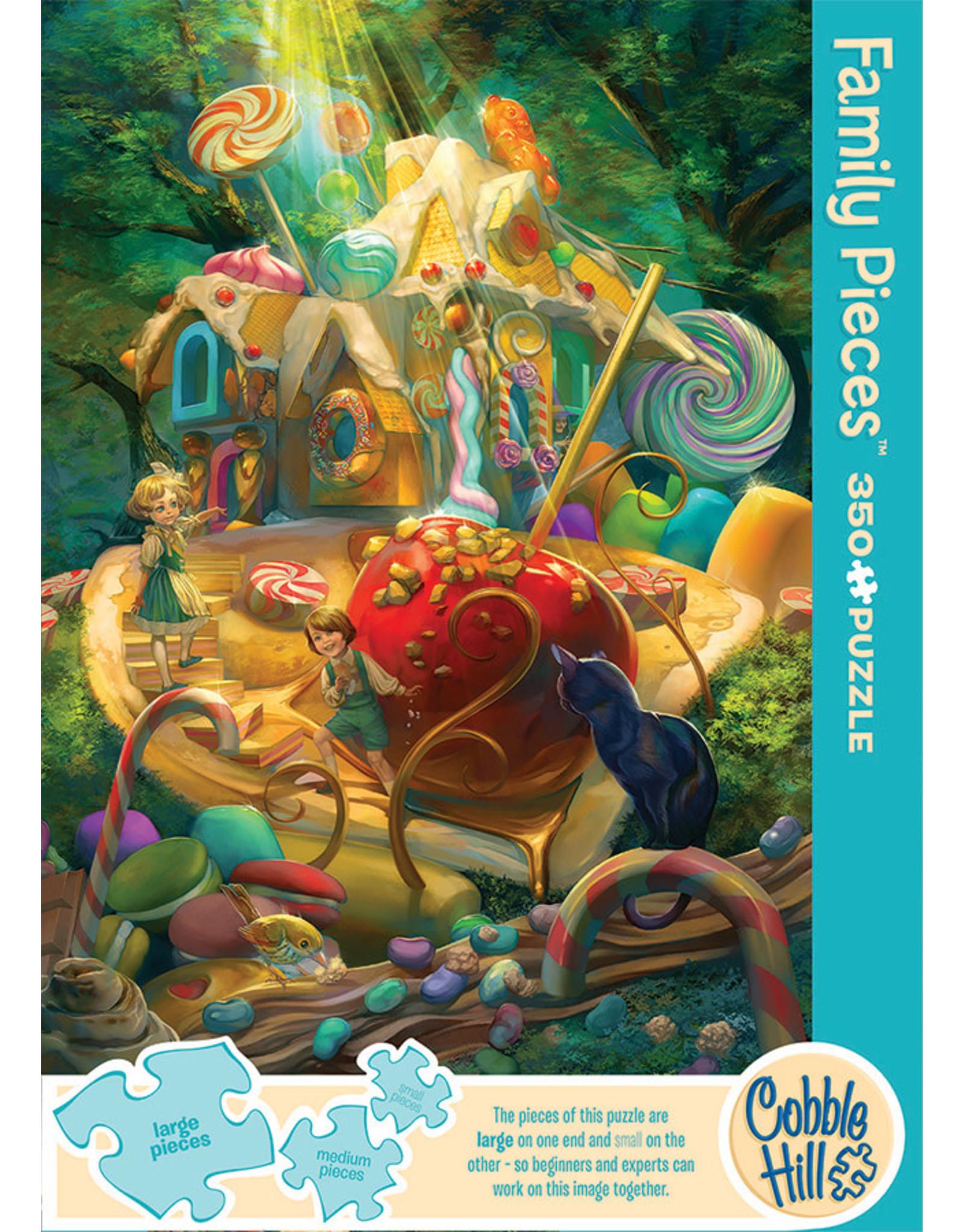 Cobble Hill Puzzles Candy Cottage 350pc