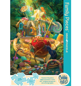 Cobble Hill Puzzles Candy Cottage 350pc