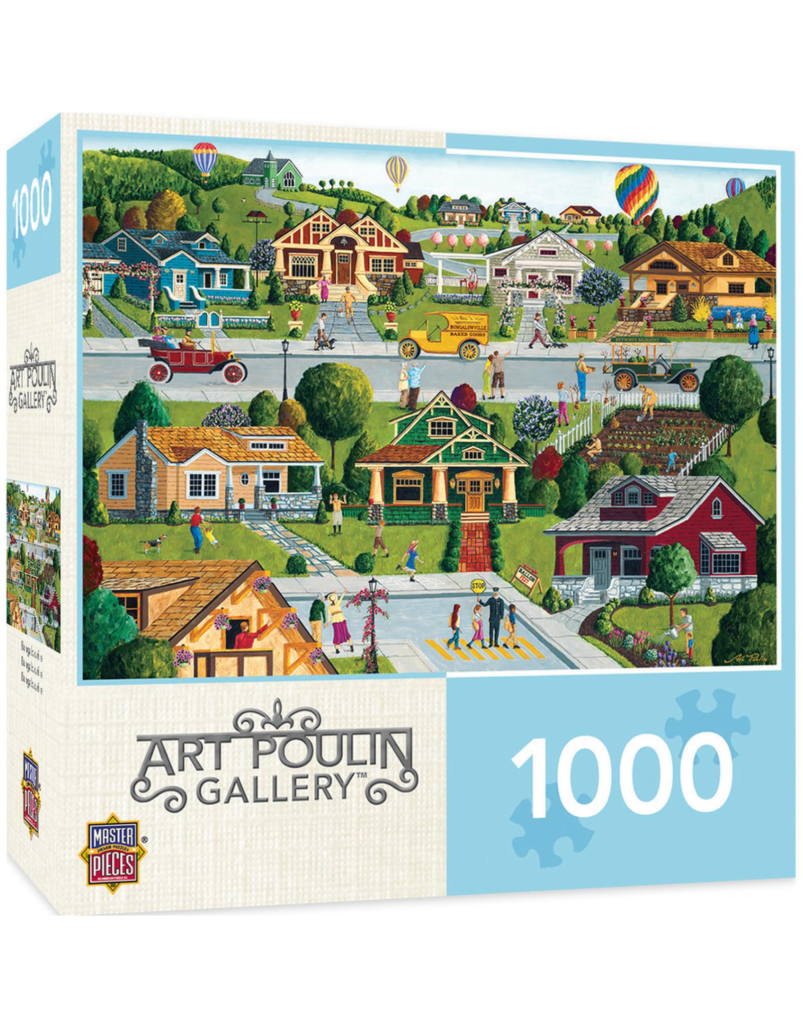 Masterpieces Puzzles Bungalowville 1000pc