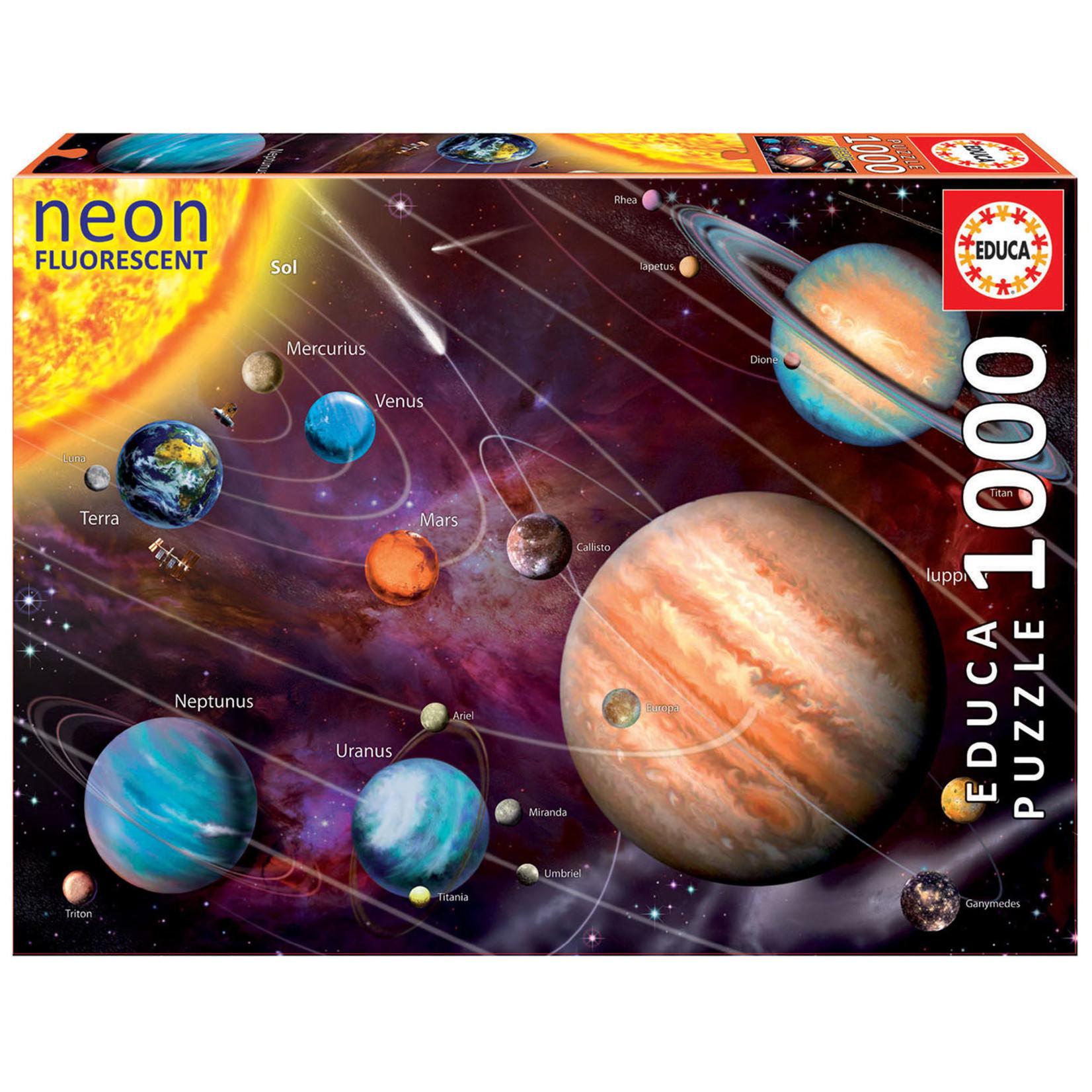 Educa Puzzles Solar System 1000pc