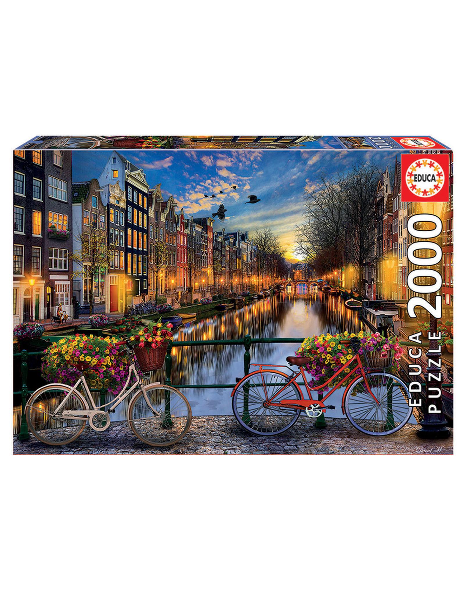Educa Puzzles Amsterdam with Love 2000pc
