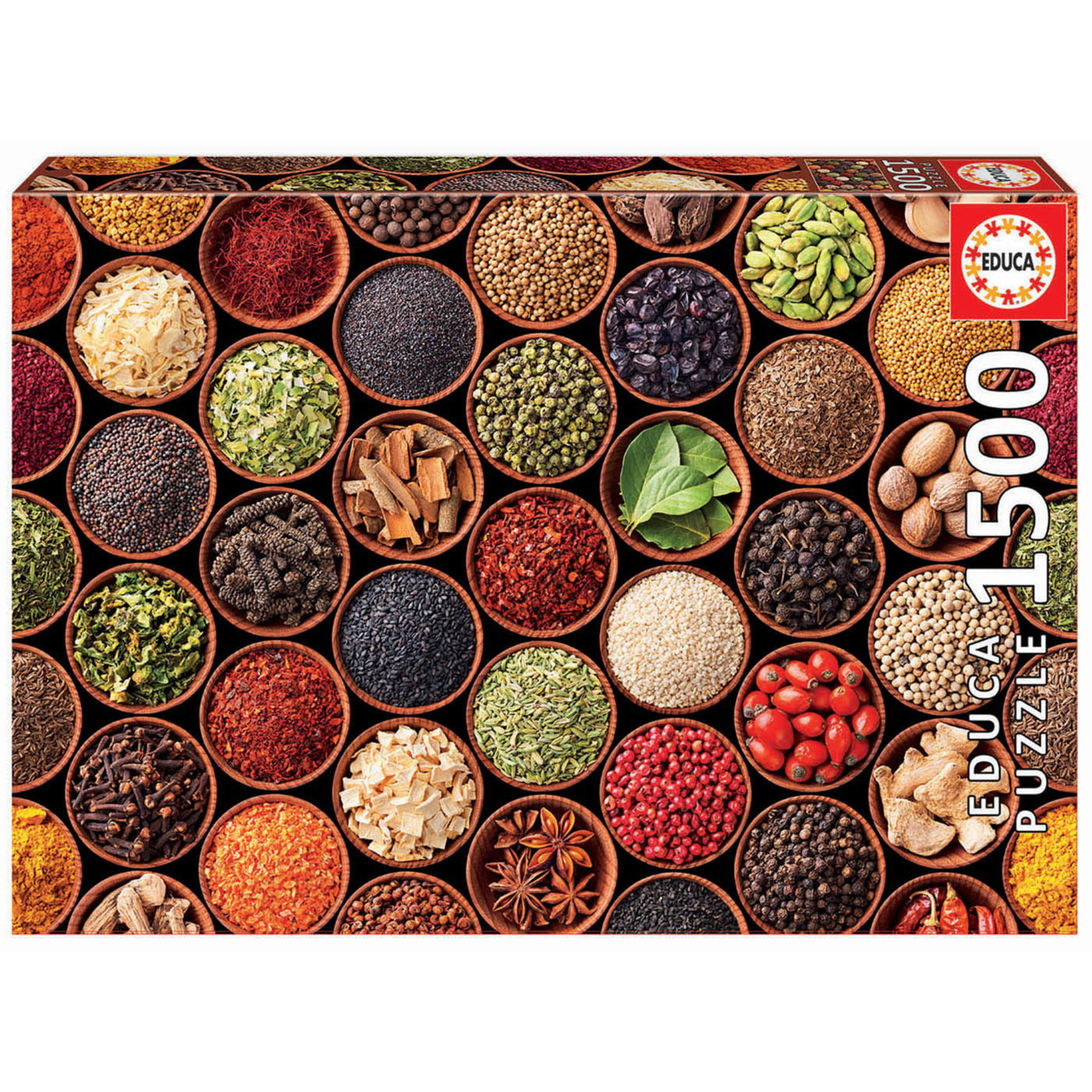 Educa Puzzles Herbs & Spices 1500pc