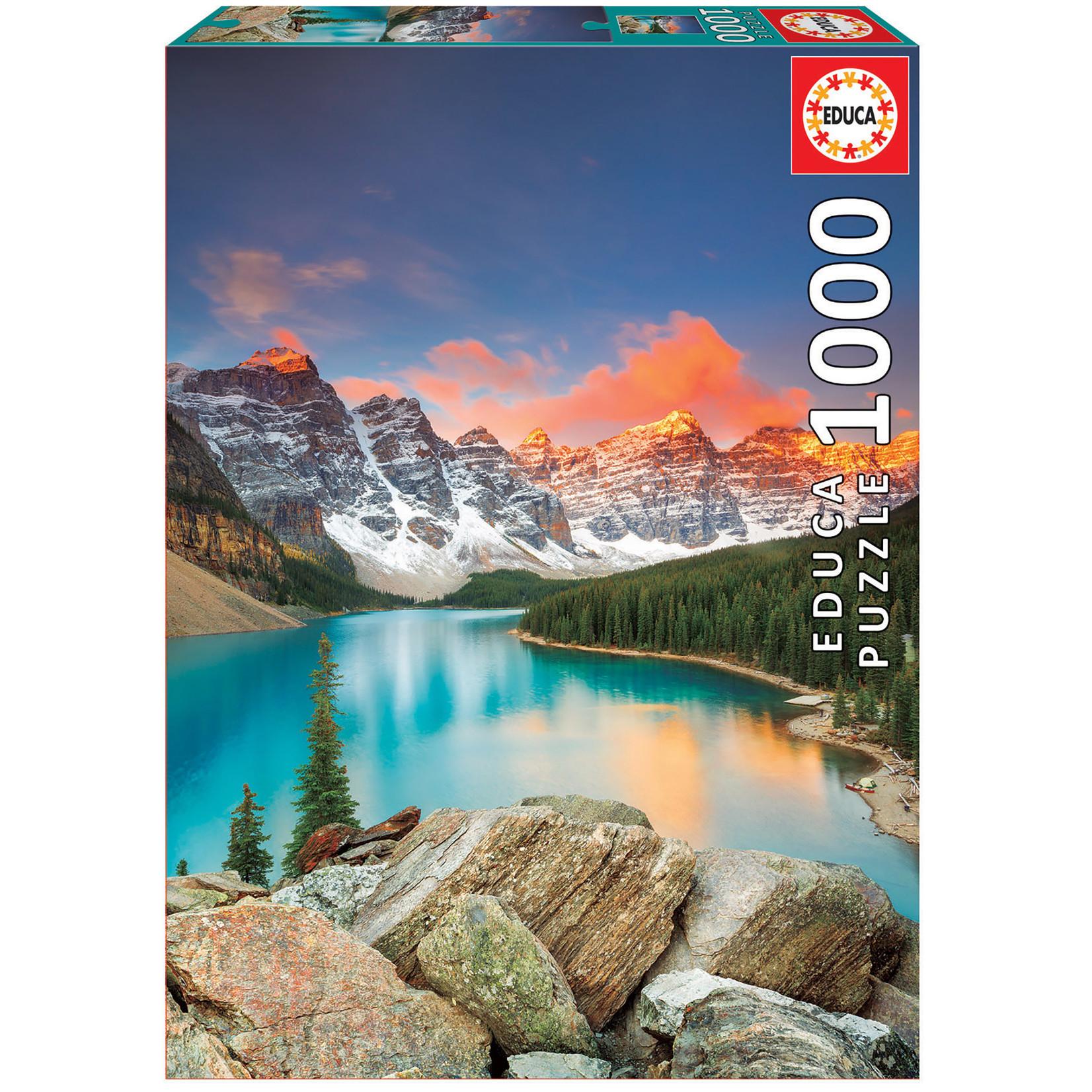 Educa Puzzles Moraine Lake Banff 1000pc