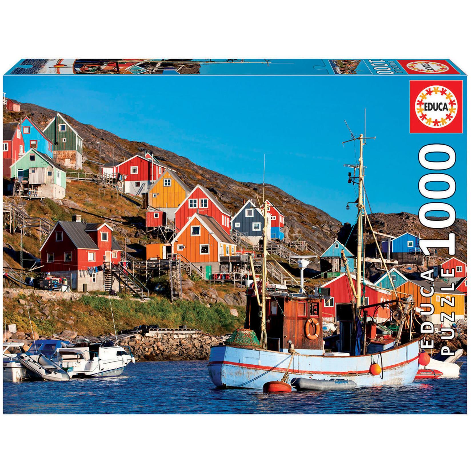 Educa Puzzles Nordic Houses 1000pc