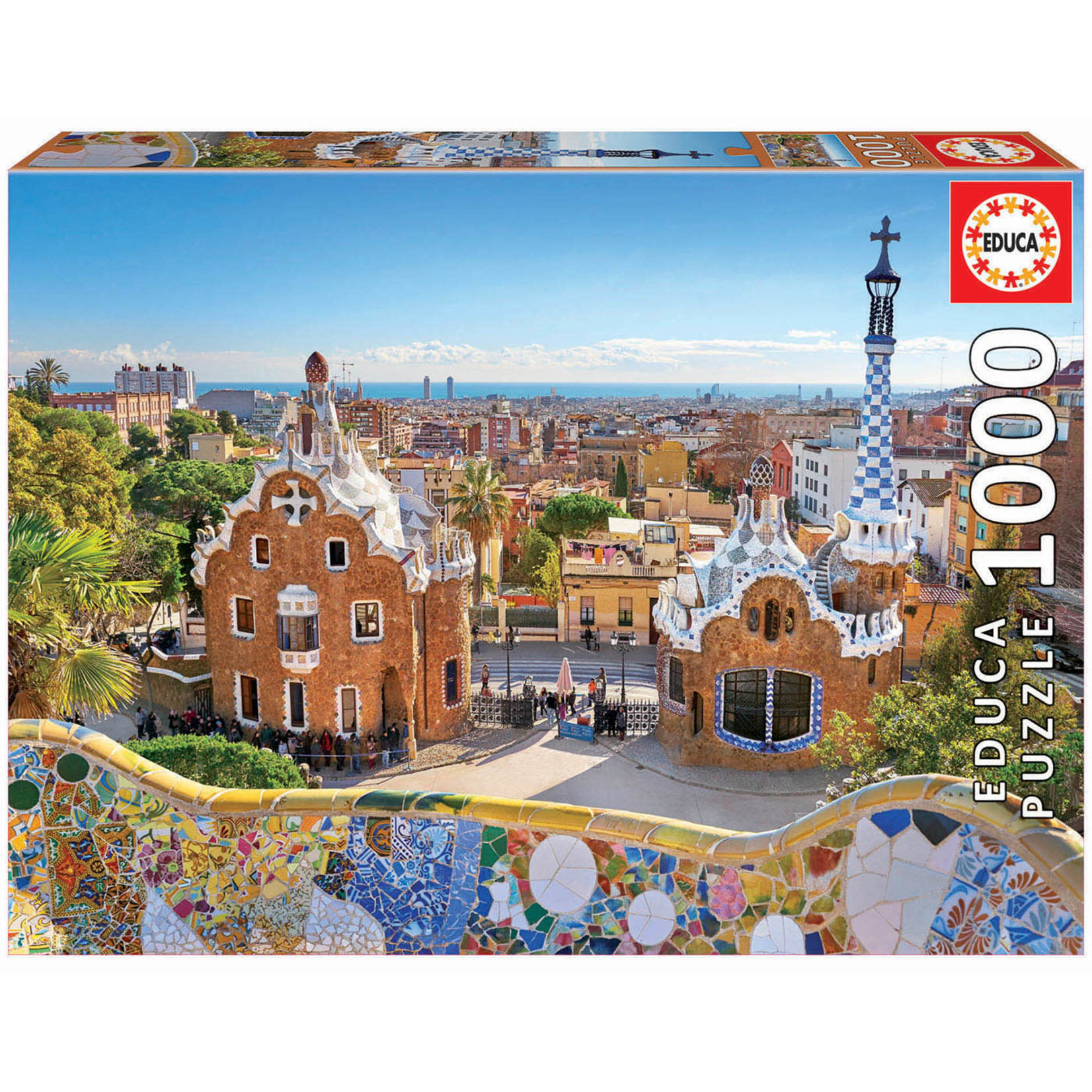 Educa Puzzles Barcelona View from Park Guell 1000pc
